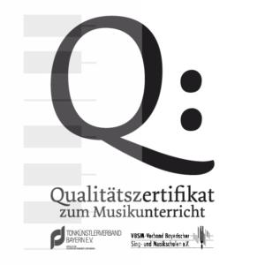 Qualitätszertifikat vom Tonkünstlerverband Bayern im DTKV